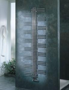Водяной полотенцесушитель Zehnder коллекция Yucca дизайнерский 500х1340х43 хром YS 50-130