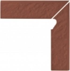 Опочно Симпл ред цоколь ступенчатый Правый структурный 3-d 30x8
