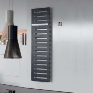 Электрический полотенцесушитель скрытый (BOX) Zehnder Metropolitan 500х1225х83 лесенка черный MEPE-120-050/ID