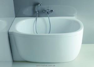 Ванна акриловая овальная Laufen коллекция Mimo L 140х80х66 221550