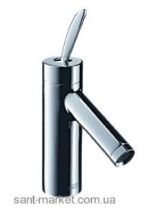 Смеситель для раковины с джойстиком и донным клапаном высокий Hansgrohe Axor Starck хром 10011810