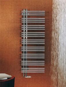 Водяной полотенцесушитель Zehnder коллекция Yucca Asymmetric 578х304х47 эмаль 8YA 60-130