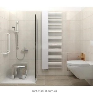 Электрический полотенцесушитель скрытый (BOX) Zehnder Yucca Mirror 600х1766х60 дизайнерский белый YMECR-180-60/RD