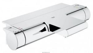 Смеситель с термостатом двухвентильный Grohe коллекция Grohtherm 2000 хром 34464001