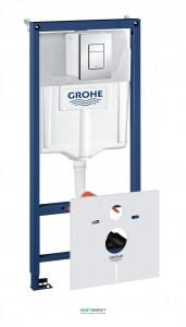 Система инсталляции для подвесного унитаза Grohe Rapid SL 4в1 50х113х14,5 38775001