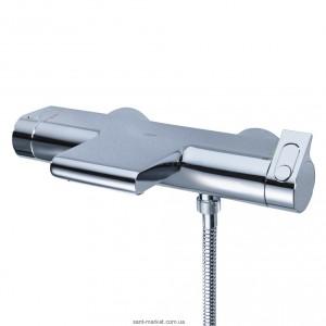 Смеситель с термостатом двухвентильный для ванны Grohe коллекция Grohtherm 2000 хром 34174001