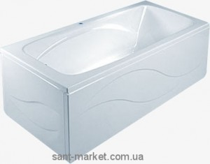 Ванна акриловая прямоугольная PoolSpa коллекция Klio 120х70х61 PWPA8..ZS000000 + рама