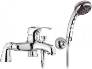 Смеситель однорычажный на борт ванны с душем Remer Rubinetterie коллекция Musa хром M08UK-A