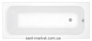 Ванна акриловая прямоугольная PoolSpa коллекция Klio 140х70х61 PWP64..ZS000000 + рама