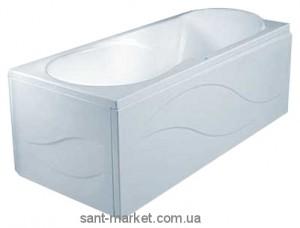 Ванна акриловая прямоугольная PoolSpa коллекция Muza 140х75х61 PWPH1..ZN000000 + ножки