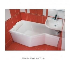 Ванна акриловая асимметричная Ravak Be happy 160х75х61 L C131000000