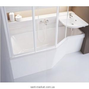Ванна акриловая асимметричная Ravak Be happy 170х75х61 R C171000000