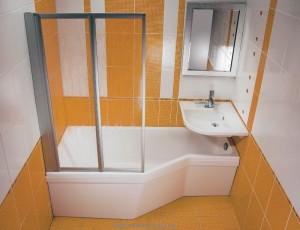 Ванна акриловая асимметричная Ravak Be happy 170х75х61 L C141000000