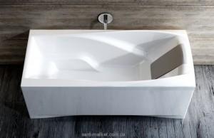 Ванна акриловая прямоугольная Ravak коллекция You PU-PLUS 185х85х61 C031000000
