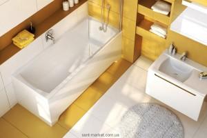 Ванна акриловая прямоугольная Ravak коллекция Classic 150х70х61 N C521000000