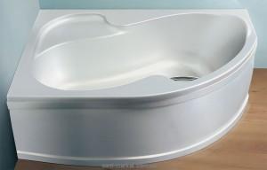 Ванна акриловая угловая асимметричная Ravak коллекция Rosa I 160х105х45 L CM01000000