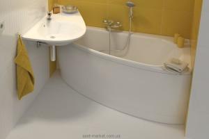 Ванна акриловая угловая асимметричная Ravak коллекция Avocado 160х75х47 R CH01000000