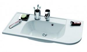 Раковина для ванной встраиваемая Ravak коллекция Praktik S белая XJ6L1100000