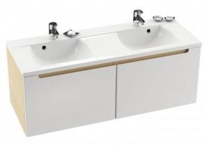Раковина для ванной на тумбу двойная Ravak коллекция Classic белая XJD01113000