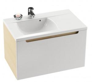 Раковина для ванной на тумбу Ravak коллекция Classic белая XJDP1180000