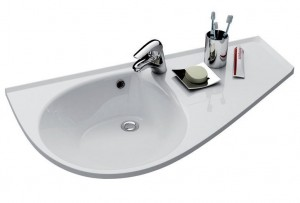 Раковина для ванной подвесная Ravak коллекция Avocado Comfort белая XJ9P1100000