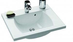 Раковина для ванной на тумбу Ravak коллекция Classic белая XJD01160000