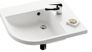 Раковина для ванной подвесная Ravak коллекция Be happy белая XJAP1100000