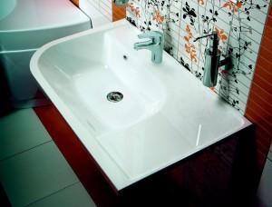 Раковина для ванной подвесная Ravak коллекция Praktik U белая XJ5P1100000