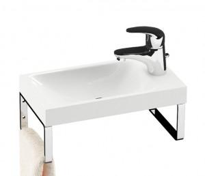 Раковина для ванной подвесная Ravak коллекция Classic Mini белая XJF01100000
