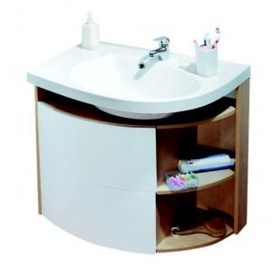 Раковина для ванной на тумбу Ravak коллекция Rosa Comfort белая XJ8L11N0000