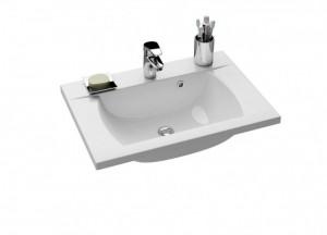 Раковина для ванной на тумбу Ravak коллекция Classic белая XJD01170000