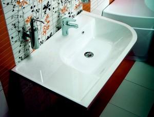 Раковина для ванной подвесная Ravak коллекция Praktik U белая XJ5L1100000