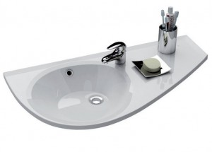 Раковина для ванной подвесная Ravak коллекция Avocado белая XJ1P1100000