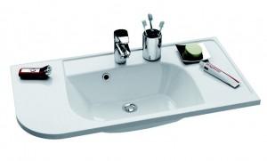 Раковина для ванной встраиваемая Ravak коллекция Praktik S белая XJ6P1100000