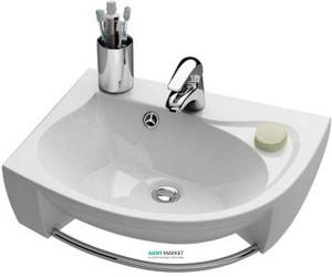 Раковина для ванной подвесная Ravak коллекция Rosa белая XJ2L1100000