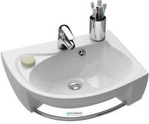Раковина для ванной подвесная Ravak коллекция Rosa белая XJ2P1100000