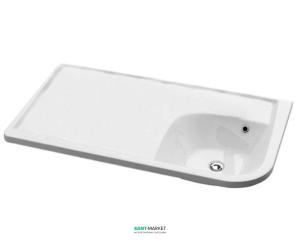 Раковина для ванной подвесная Ravak коллекция Praktik W белая XJ7L1100000