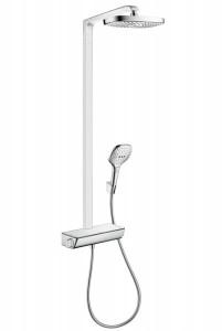 Hansgrohe Душевая система с термостатом Raindance Select E 300 2jet Showerpipe 27128400