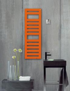 Электрический полотенцесушитель скрытый (BOX) Zehnder Metropolitan 400х805х83 лесенка цветнойMETE-080-040/ID