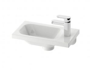 Раковина для ванной на тумбу Ravak коллекция Chrome Mini белая XJGL1100000