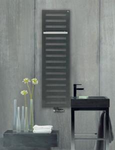Водяной полотенцесушитель Zehnder коллекция Metropolitan дизайнерский 400х1225х44 MEP-120-040