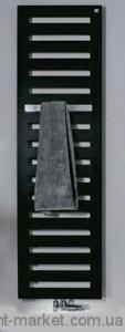 Электрический полотенцесушитель скрытый (BOX) Zehnder Metropolitan 400х1540х83  лесенка черныйMETE-150-040/ID