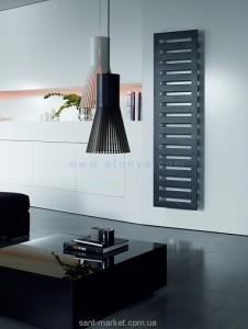 Электрический полотенцесушитель скрытый (BOX) Zehnder Metropolitan 600х1750х83 лесенка черный METE-180-060/ID