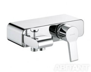 Смеситель однорычажный для ванны с коротким изливом Kludi коллекция O-Cean хром 387700575