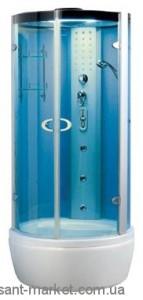 Паровой гидробокс отдельно стоящий Wisemaker WK-A03-B 100х100x215