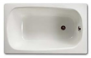 Ванна стальная встраиваемая Roca Contesa прямоугольная 100х70 белая A212107001