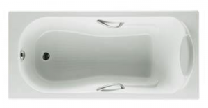 ROCA HAITI Прямоугольная чугунная ванна 150x80 с ручками А233250001