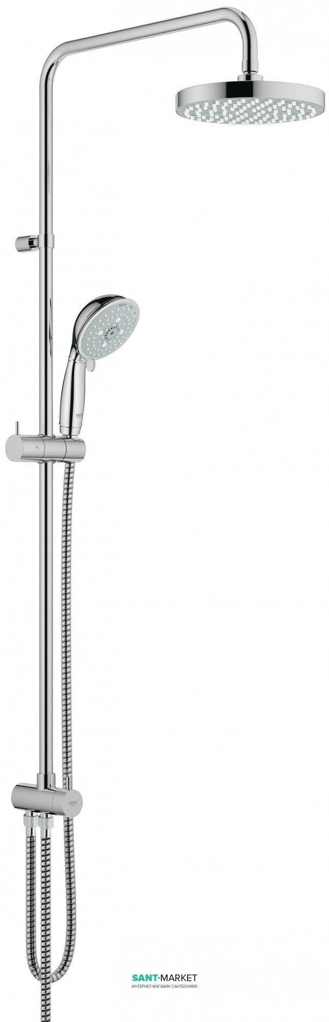 Grohe BauClassic Душевая система с верхним ручным душем 27399000