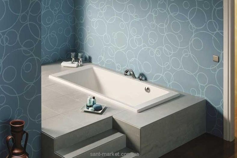 Ванна акриловая прямоугольная Roca коллекция Vythos 160x70х42 A247942000