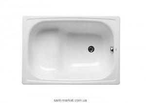 Ванна стальная встраиваемая Roca Contesa прямоугольная 100х70 с сиденьем и с ножками A213100001